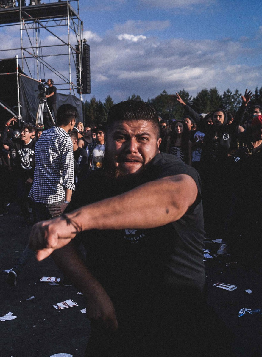 Los moshpits del Knotfest