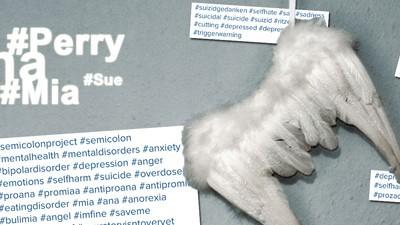 Auf Instagram glorifizieren Jugendliche ihre psychischen Krankheiten
