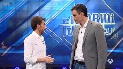 #PedroSanchezEH: el tercer favor de Pablo Motos a Albert Rivera