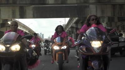Caramel Curves: de motorgang voor vrouwen uit New Orleans