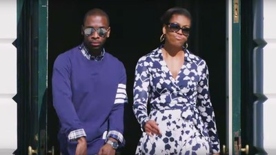 Watch Michelle Obama Rap About the Virtues of Higher Education