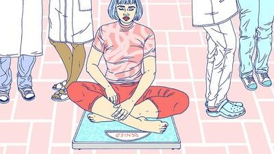 Hoe het is om overgewicht én anorexia te hebben
