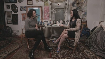Taking Drawing Lessons from Artist and Journalist Molly Crabapple