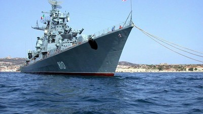 Russia Says Its Destroyer Fired Warning Shots at Turkish Ship to 'Avoid Collision'
