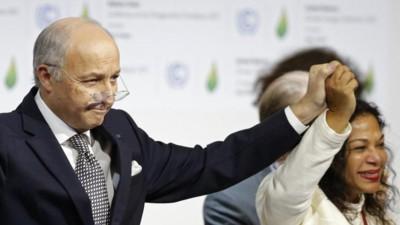 Acordo histórico no combate às alterações climáticas