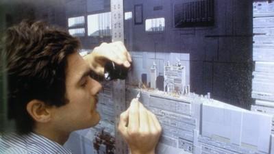 Os cenários do Star Wars que foram pintados à mão