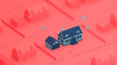 Even the Houses Hate the Suburbs in This Week's Comic by Julian Glander