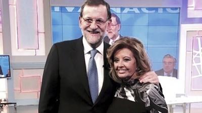 Mariano Rajoy y la Campos: olor a Alcanfor, a pis y a ajo