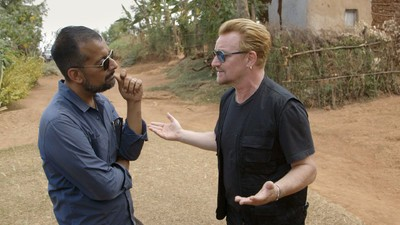 Watch Suroosh Alvi Go to Rwanda with Bono in This Web-Exclusive Clip from the VICE Doc 'Countdown to Zero'