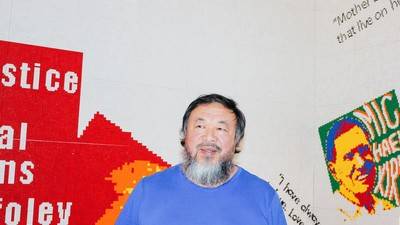 Ai Weiwei's New Installation Is Made from Fake Legos