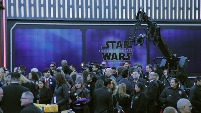 The Star Wars Red Carpet Ceremony Made Me Terrified to See the New Star Wars Movie