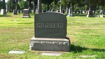 "Aquí yace ""lo hipster"""