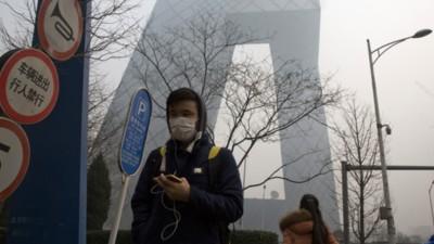 Chinezen kopen massaal spuitbussen met frisse Canadese lucht om te ontsnappen aan de smog