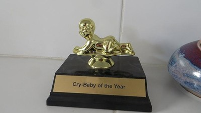 Cry-Baby of the Year 2015