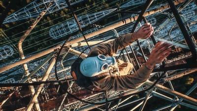 Cum și-au riscat viața în Cernobîl patru tineri care fac parkour