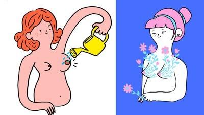 Die Illustratorin Cécile Dormeau will, dass du dich so akzeptierst, wie du bist