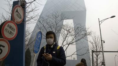 La venta de aire de montaña canadiense embotellado se dispara en Pekín