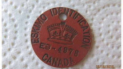 ​The Little-Known History of How the Canadian Government Made Inuit Wear 'Eskimo Tags'