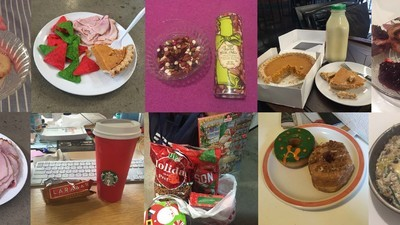 I Spent a Disgusting Week Eating Nothing but Christmas-Themed Food