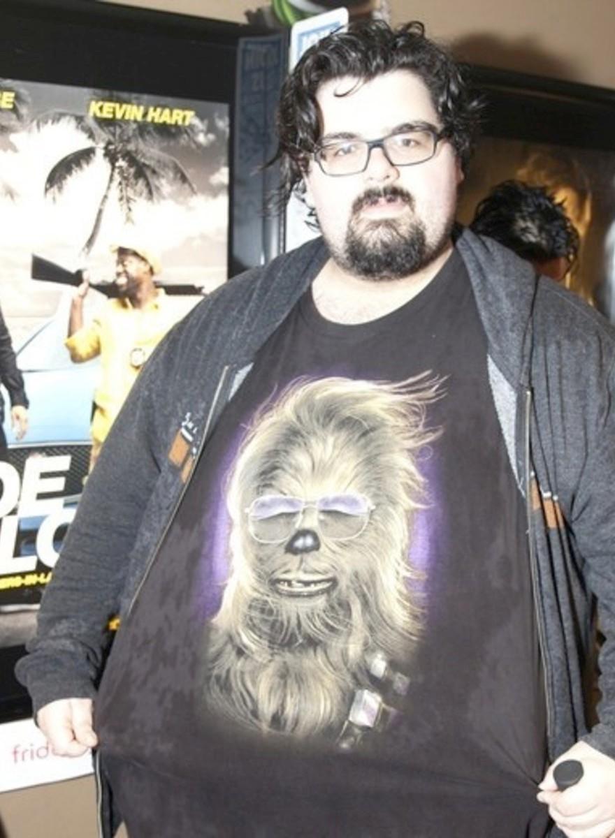 Foto's van de première van <i>Star Wars: The Force Awakens</i> in New York