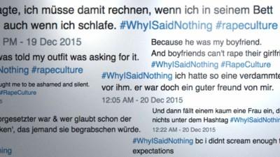 """Der Hashtag #WhyIsaidNothing und das Märchen vom """"Vergewaltigungsmärchen"""""""