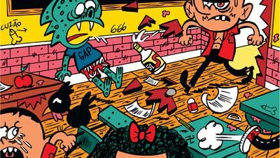 A terceira edição da Smegma Comix pegou de zoeira os clássicos da literatura