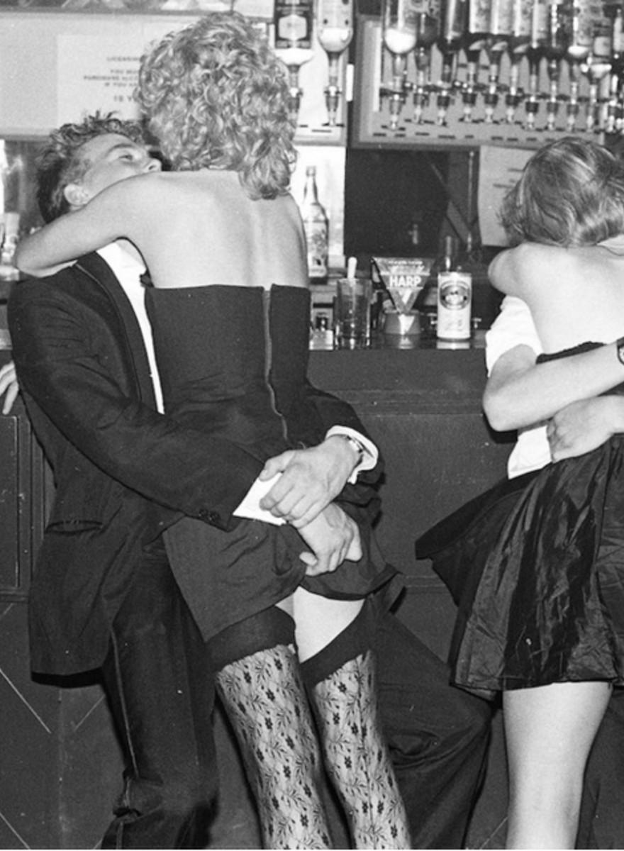 Foto dei Gatecrasher Ball, le feste dei ragazzini inglesi ricchi degli anni Ottanta