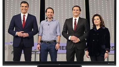 Lo mejor del 20D es que los políticos dejarán de dar el coñazo en la tele