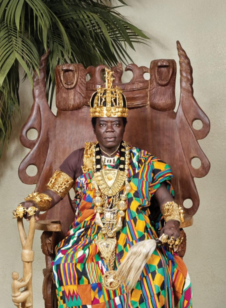 Re Bansah: monarca part-time, meccanico full-time