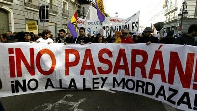 Cerco judicial y político a la 'Ley Mordaza'
