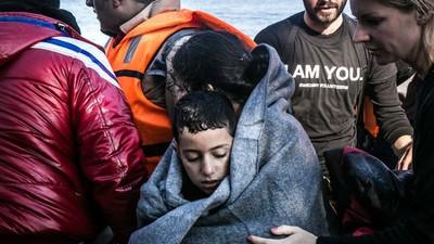 Cómo voluntarios de todo el mundo han transformado la crisis de refugiados en Lesbos