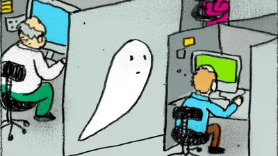 Ghost Girl Goes Hollywood in Today's Comic from Ines Estrada