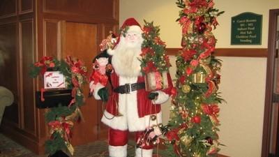 In dit hotel is het 365 dagen per jaar Kerstmis