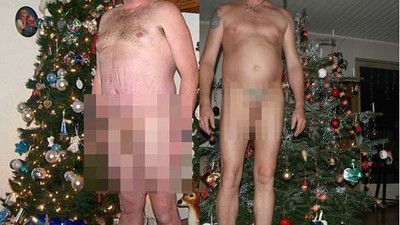Looking at These Naked Christmas Dads Should Be a Holiday Tradition