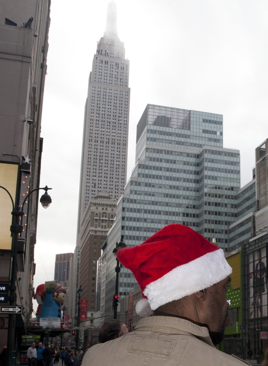 Photos from the Hottest Christmas in NYC History