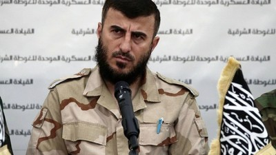 Top Syrian Rebel Leader Zahran Alloush Reportedly Killed in Aerial Raid