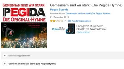 Du kannst jetzt die Pegida-Hymne auf Amazon kaufen