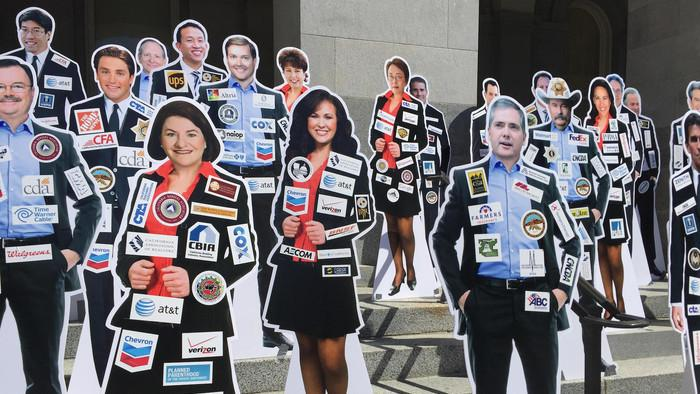 Will California Actually Force Legislators to Wear Sponsor Patches Like Nascar Drivers?