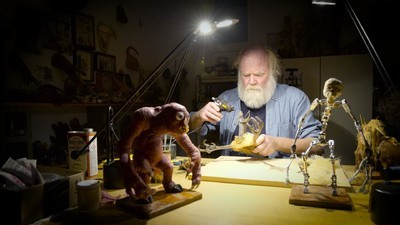 Een leven vol monsters: de animator van Jurassic Park en Star Wars