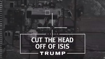 Donald Trump Says He'll Behead ISIS and Steal Their Oil in His First TV Campaign Ad