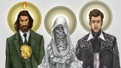 Del catolicismo al mundo del arte: la evolución de los narcosantos