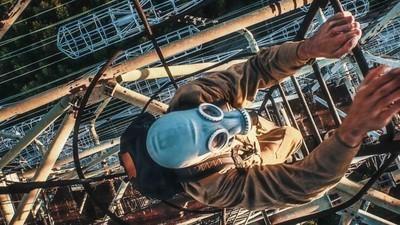Parkour em Chernobyl: aventura incrível, ou loucura absurda?