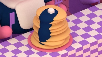 Enter a Flapjack Eating Contest in This Week's Comic by Julian Glander