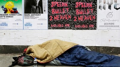 The Battle Over How to Save New York's Homeless from the Winter Cold