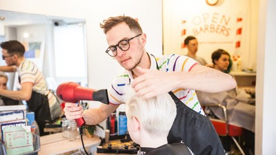 Inside Britain's First Queer- and Trans-Friendly Hair Salon