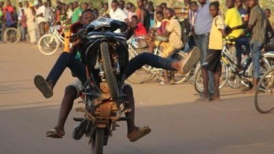 Les stars du guidon de Ouagadougou
