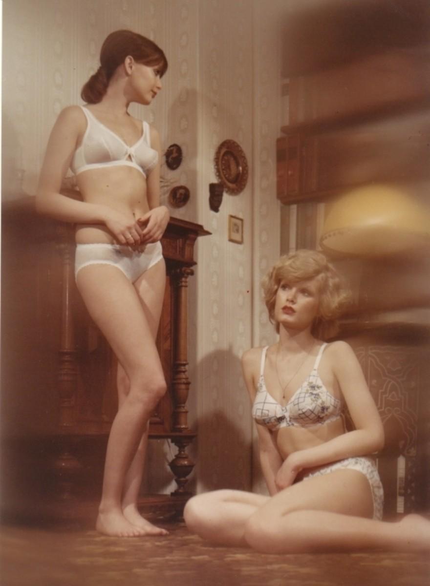 Erotische foto's uit de oude Duitse doos