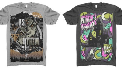 Here's What It's Like Being a Freelance Band Merch Designer