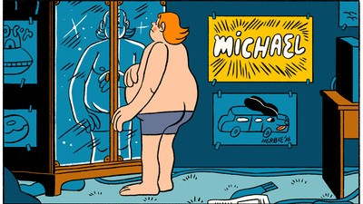 Michael Eases into the New Year in This Week's Comic from Stephen Maurice Graham