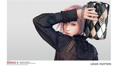 Louis Vuitton își promovează gențile cu o tipă din Final Fantasy